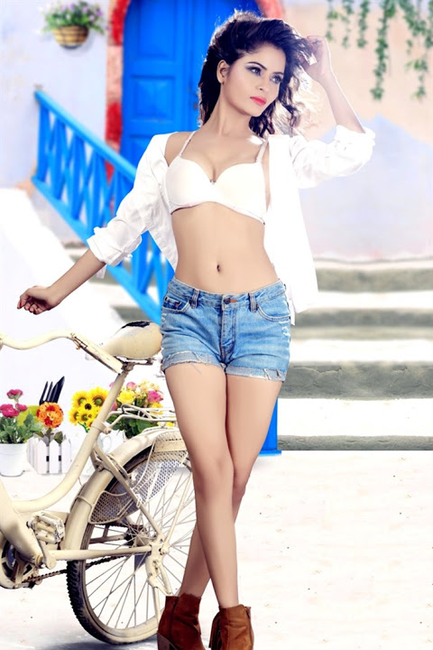 Gehana vashisht white dress cool image