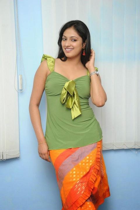Haripriya green dress fashion image