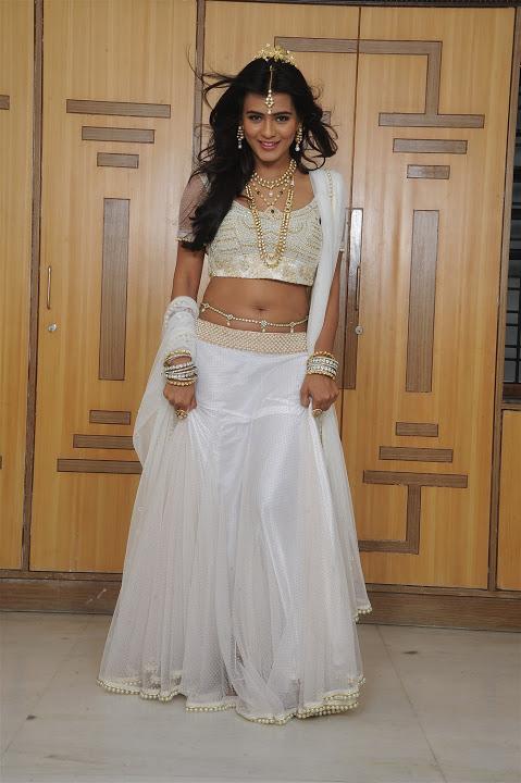 Hebah patel white dress unseen gallery