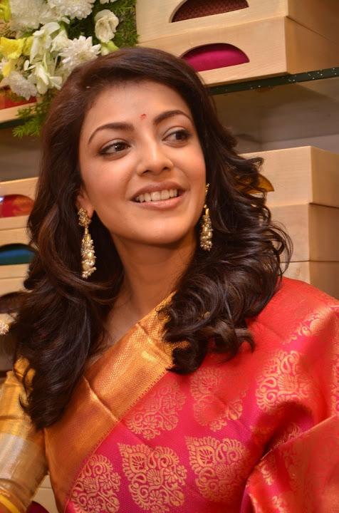 Kajal agarwal launches trisha designer store banjara hills