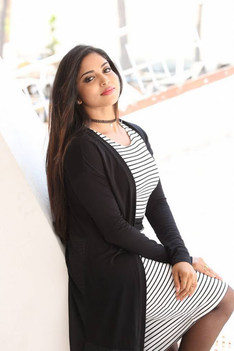 Karunya chowdary black and white dress desktop pics