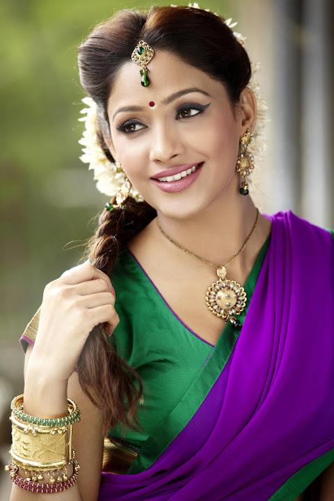 Kesha khambhati half saree cute photos