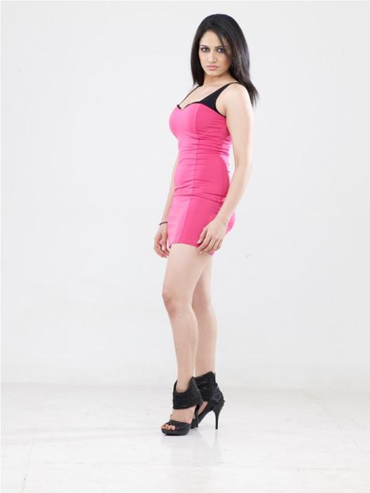 Komal sharma pink dress desktop wallpaper