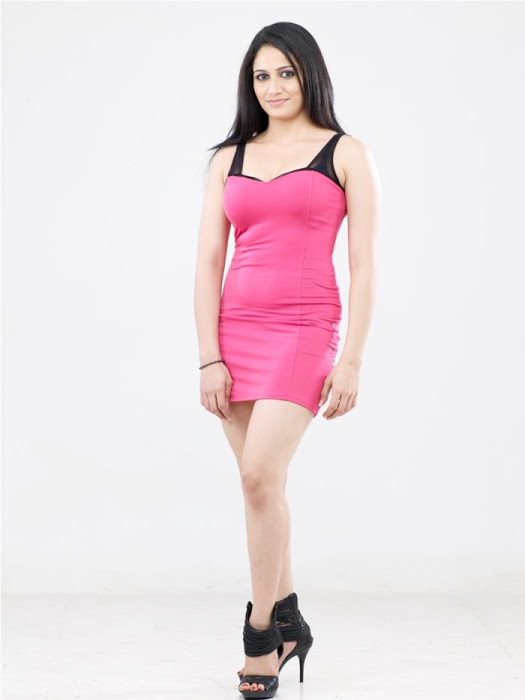Komal sharma pink dress photoshoot gallery