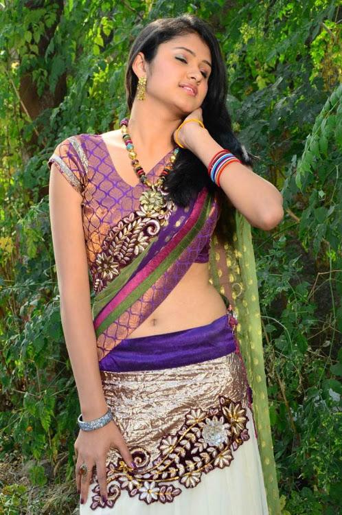 Kowsalya actress purple color dress modeling photos