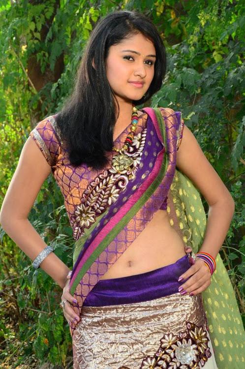 Kowsalya actress purple color dress smile pose photos