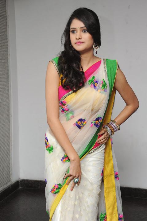 Kushi heroine desktop saree image