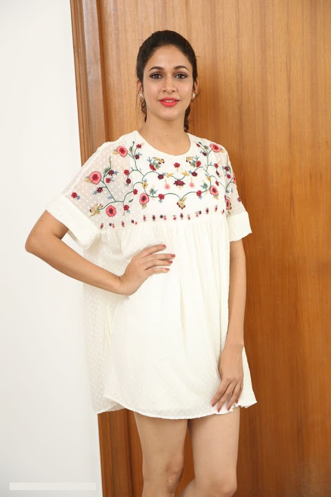 Lavanya tripathi white dress cute pictures