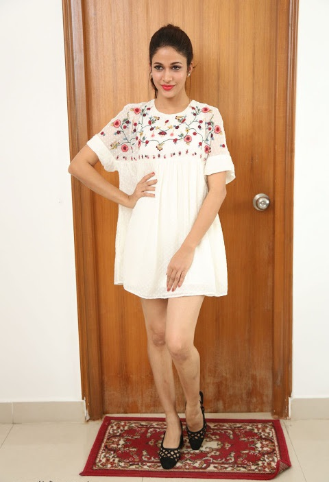 Lavanya tripathi white dress desktop photos