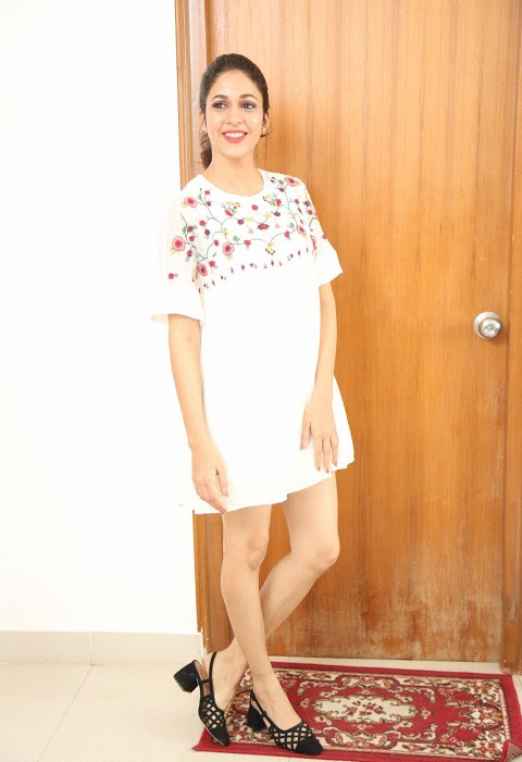 Lavanya tripathi white dress gallery