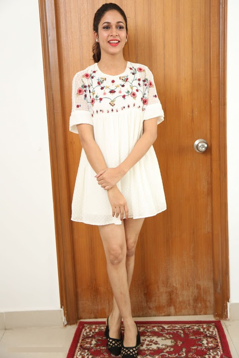 Lavanya tripathi white dress wide slide show