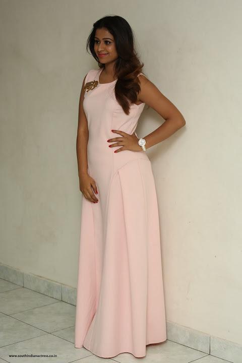 Manali rathod white dress cute stills