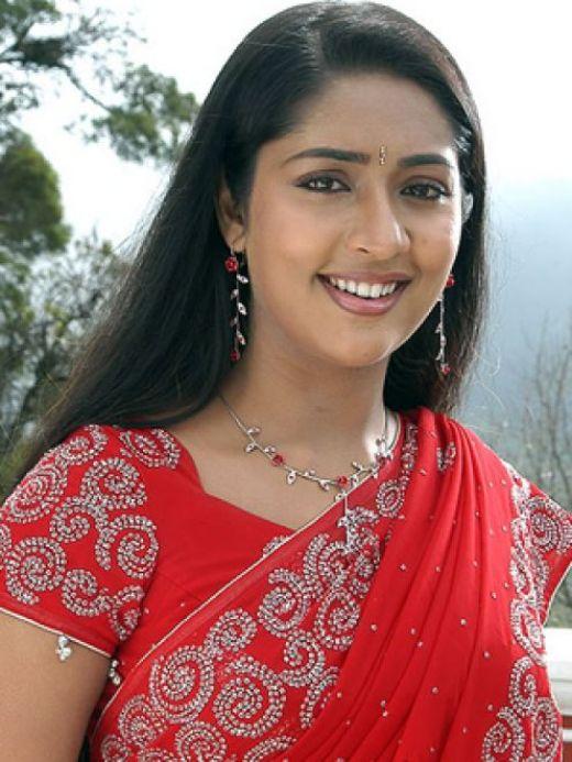 Navya nair red saree photos