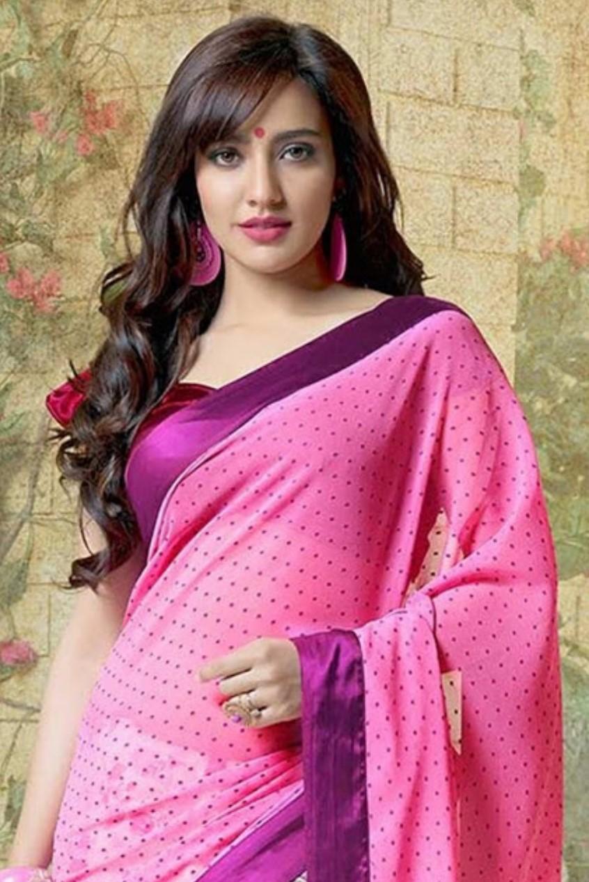 Neha sharma saree modeling photos