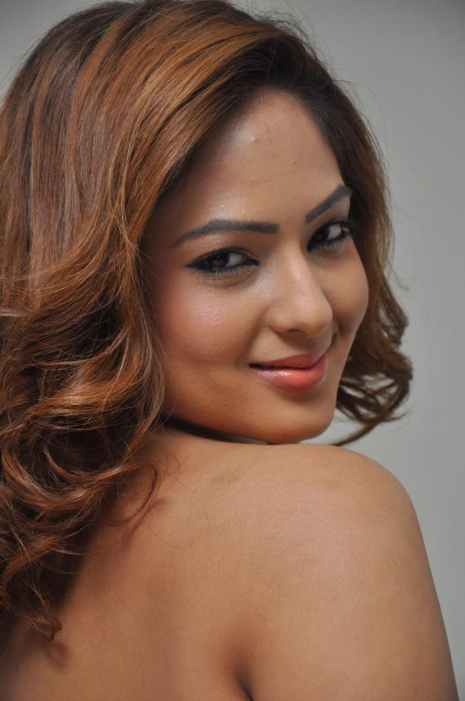 Nikesha patel backless photos
