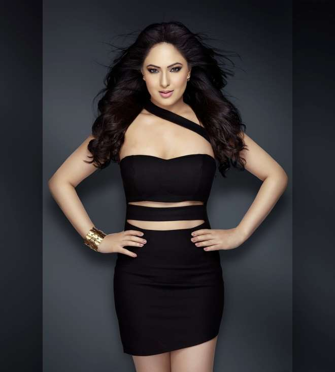 Nikesha patel mini dress pictures