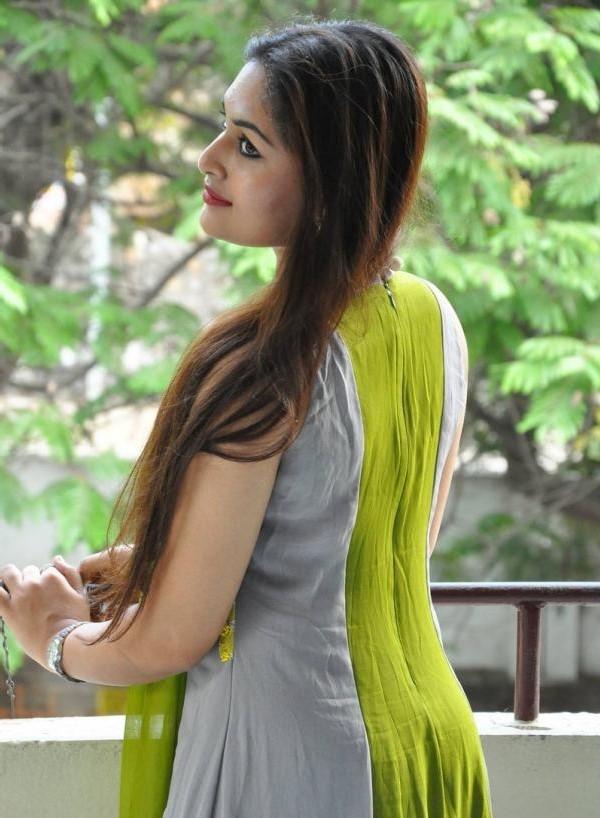 Prayaga martin back side photos