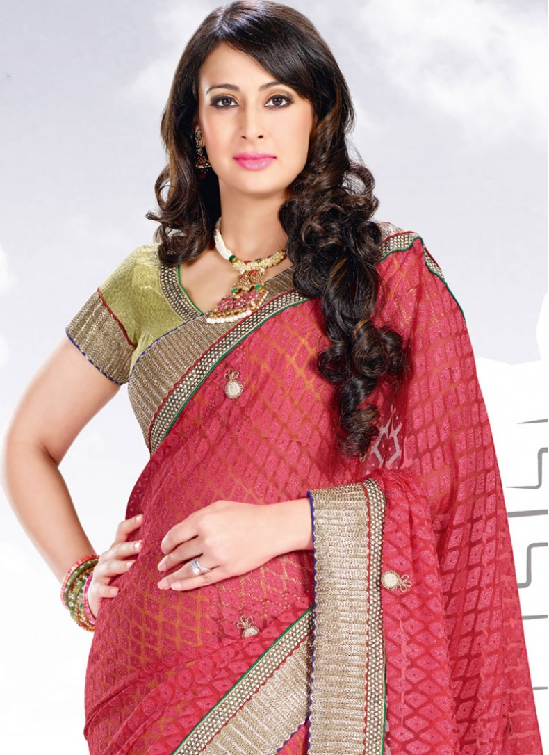 Preeti jhangiani saree modeling photos