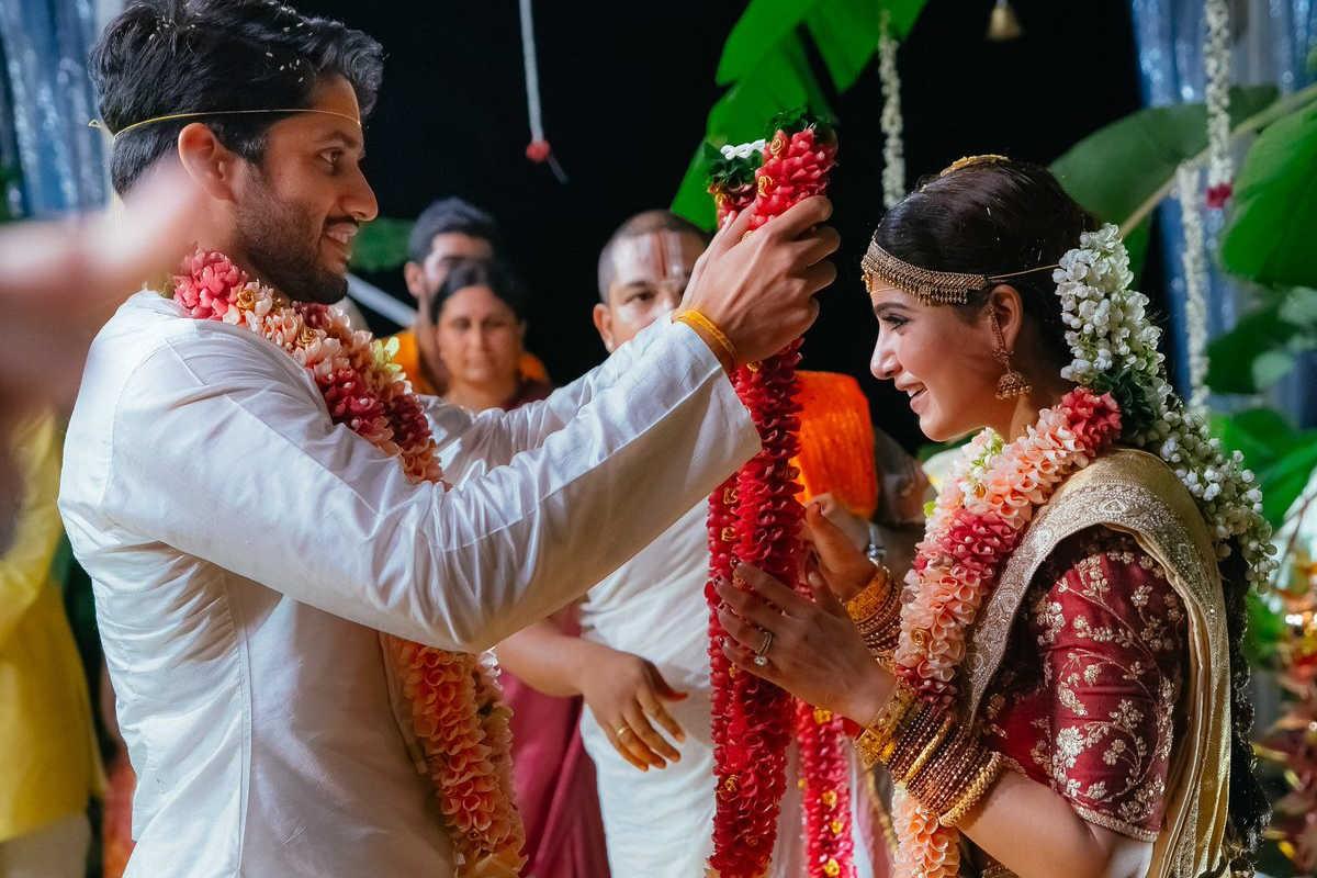 Samantha naga chaitanya wedding photos