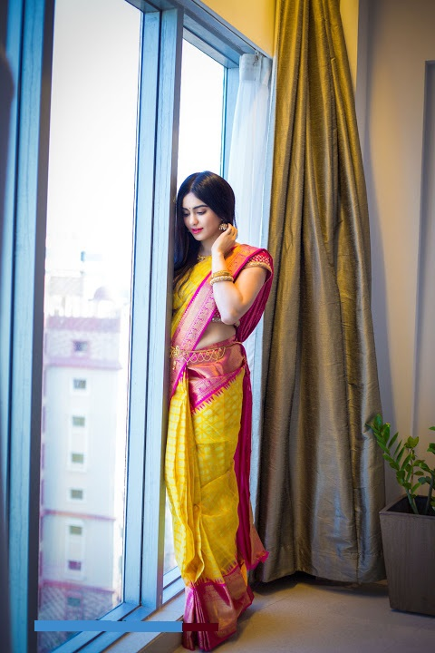Adah sharma photoshoot saree niketan stills