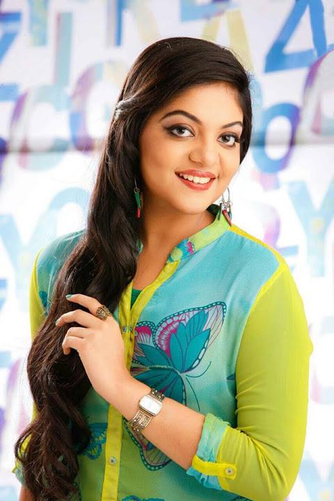 Ahaana krishna light green dress pics