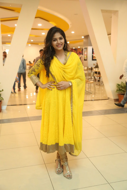 Anjali prasads chitrangada promotion stills