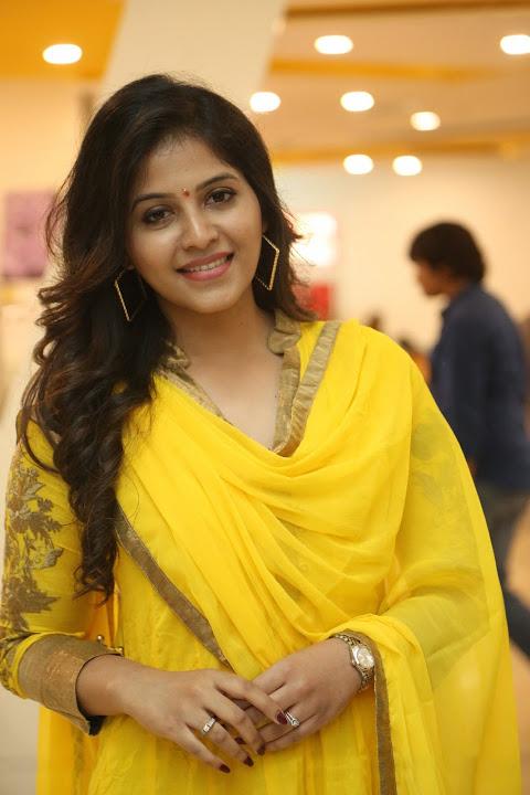 Anjali yellow color dress journal wallpaper