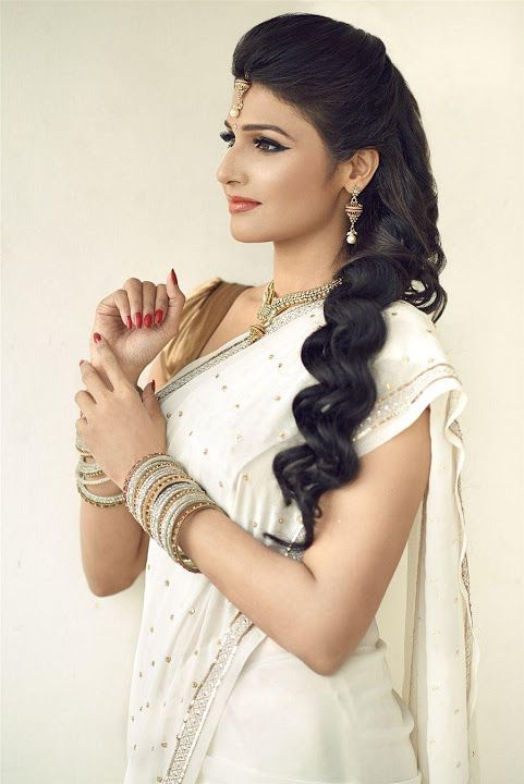 Anjana white dress desktop photos