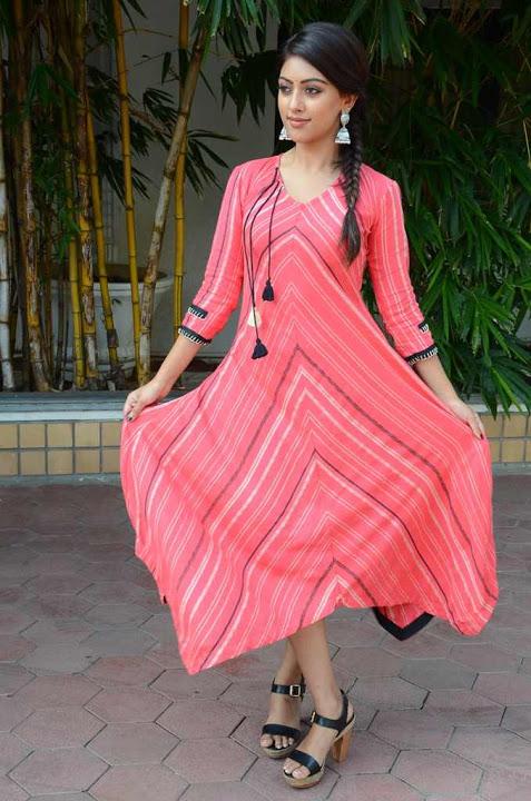 Anu emmanuel pink dress photoshoot slide show