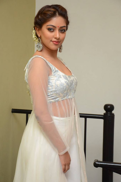 Anu emmanuel white dress fashion photos