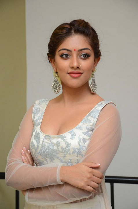 Anu emmanuel white dress modeling fotos