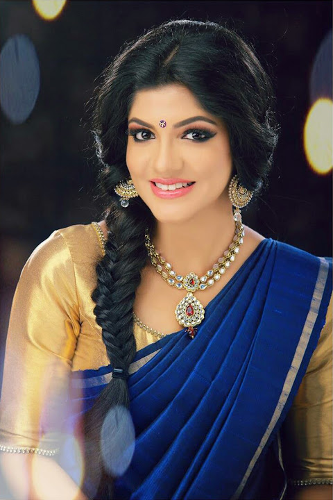 Aparna balamurali half saree hd pictures