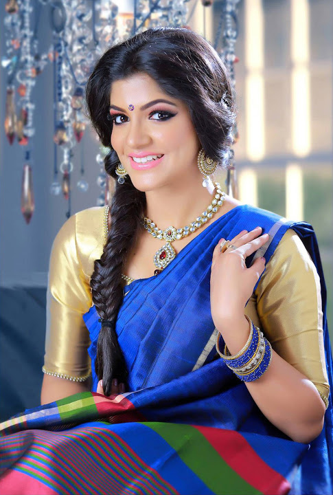 Aparna balamurali half saree wide image