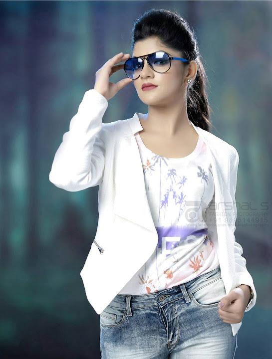 Aparna balamurali white dress photos