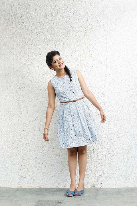 Aparna balamurali white dress photoshoot image
