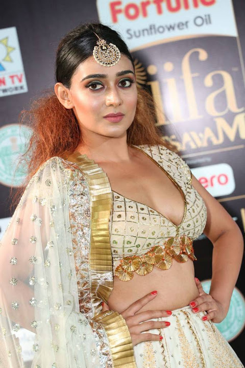 Apoorva gowda white dress modeling stills