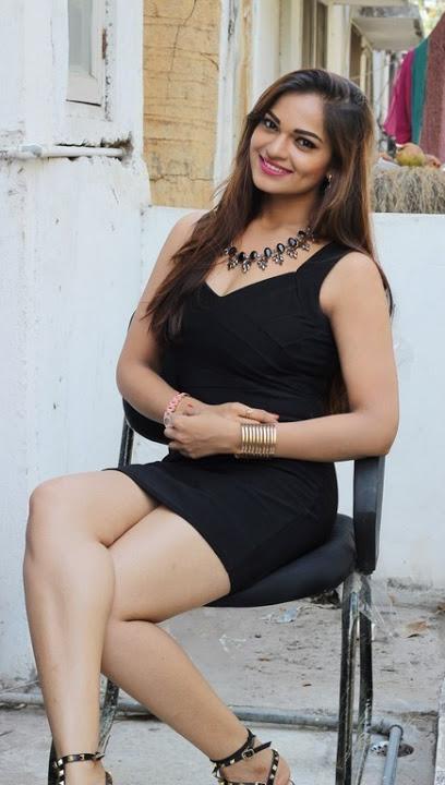 Ashwini black dress glamorous wallpaper