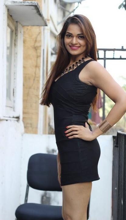Ashwini black dress journal stills