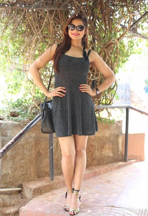 Ashwini black dress photoshoot hd pics