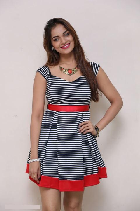 Ashwini gray color dress beautiful pictures