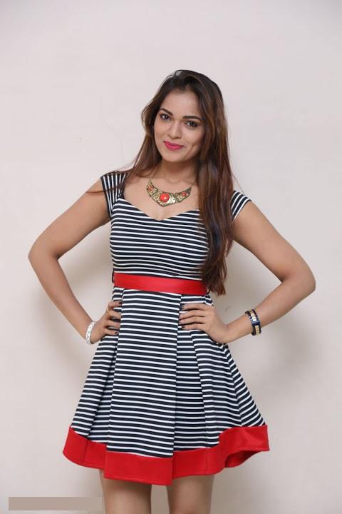 Ashwini gray color dress glamour image