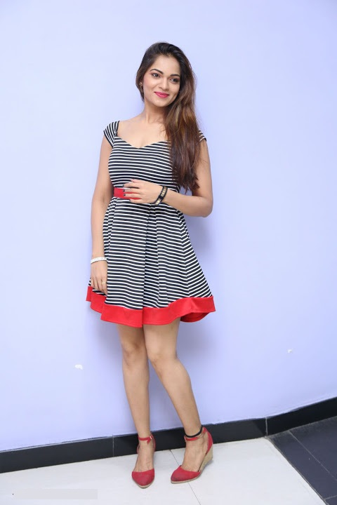Ashwini gray color dress unseen fotos