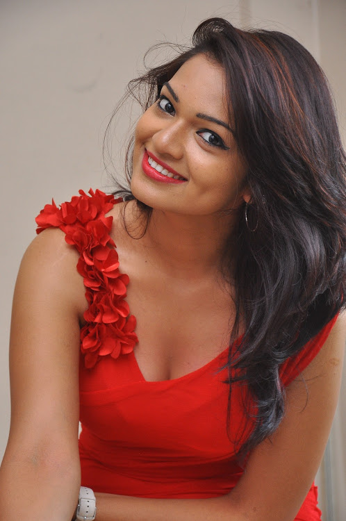 Ashwini red dress unseen stills