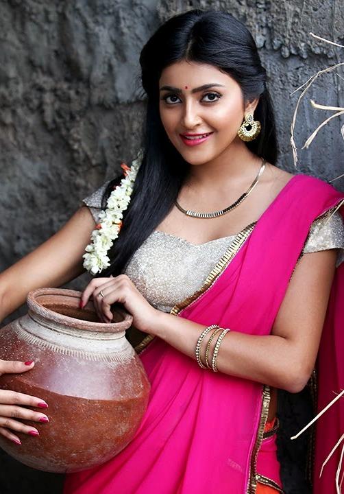 Avantika mishra red dress cute photos