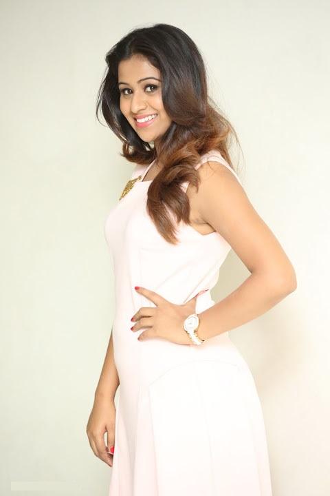 Manali rathod white dress hd movie promotion image