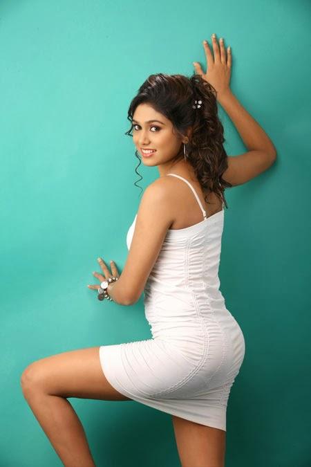 Manisha yadav white dress wide photos