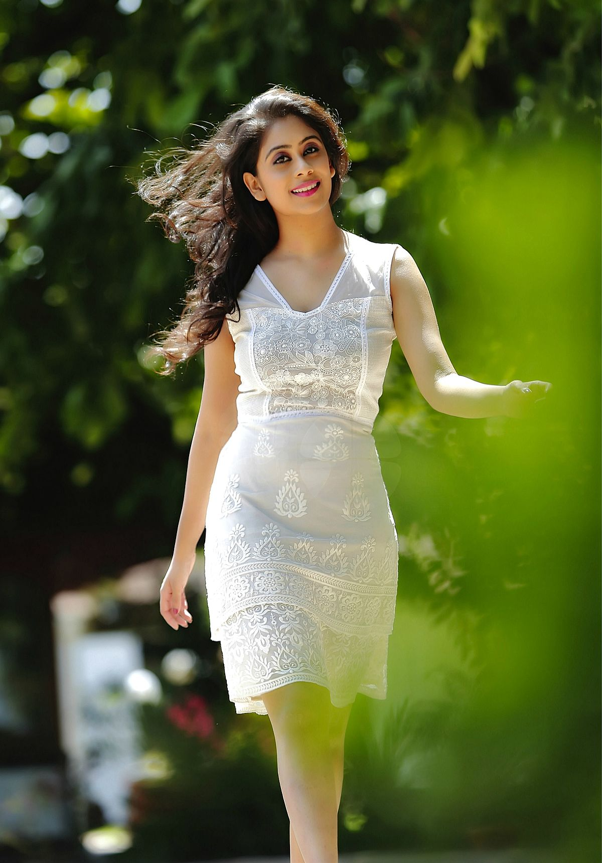 Priya lal white dress pictures