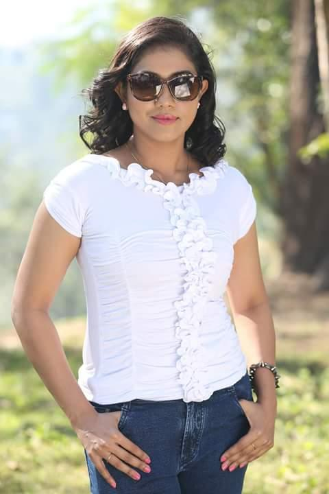 Rachana narayanankutty white dress photos