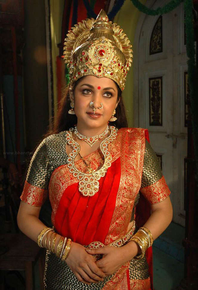 Ramya krishnan god mackup photos