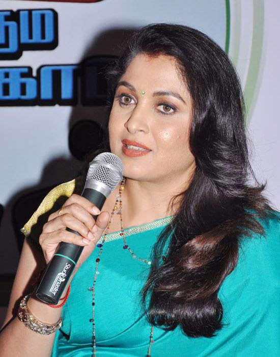 Ramya krishnan press meet photos